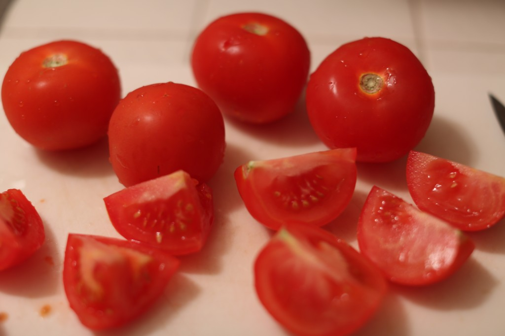 Tomatoes for mole recipe