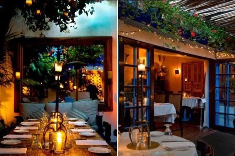 Most Romantic Restaurants, LA
