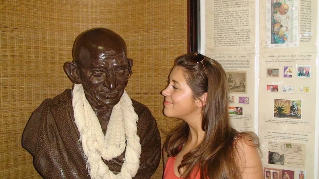 Me and Mahatma