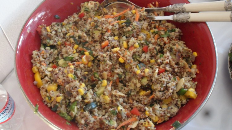 The Party Salad! Mexican Quinoa Salad