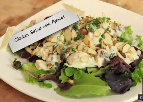 How to Make Chicken Salad With Apricot