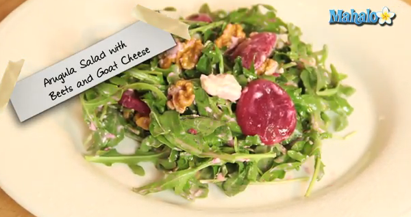 How to make Beet & Goat Cheese Salad
