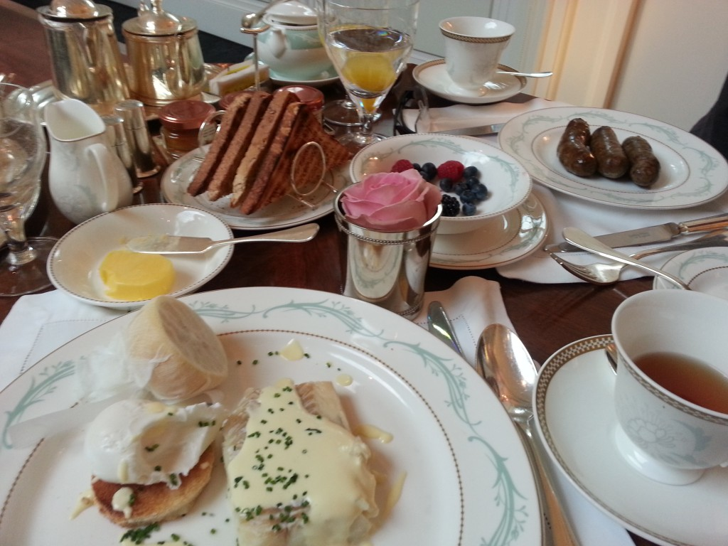 Savoy Breakfast