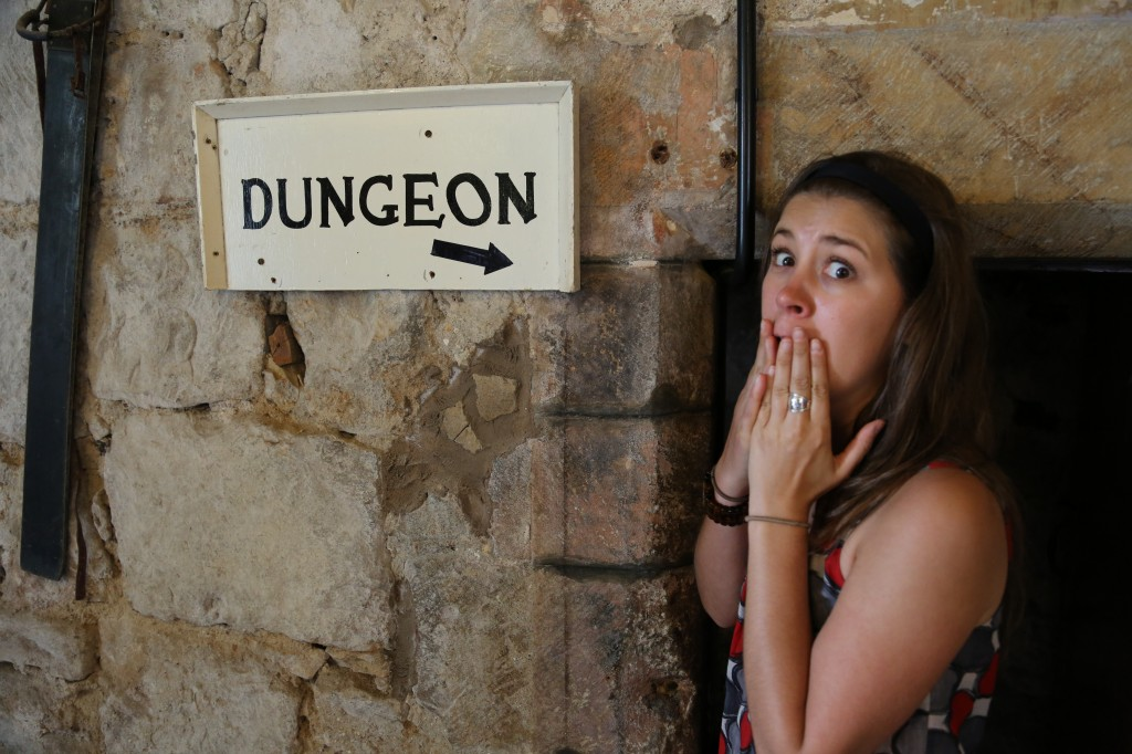 Chillingham dungeon