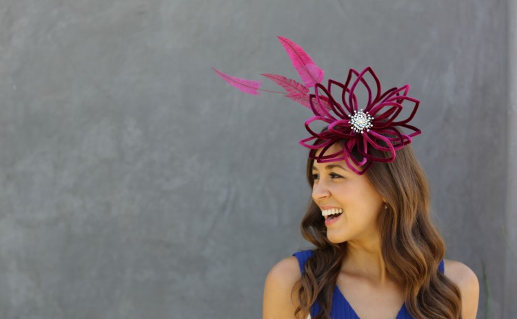 Statement hats and hair accessories