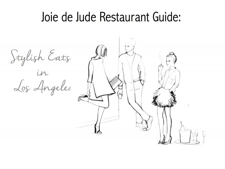 The LA Restaurant Guide